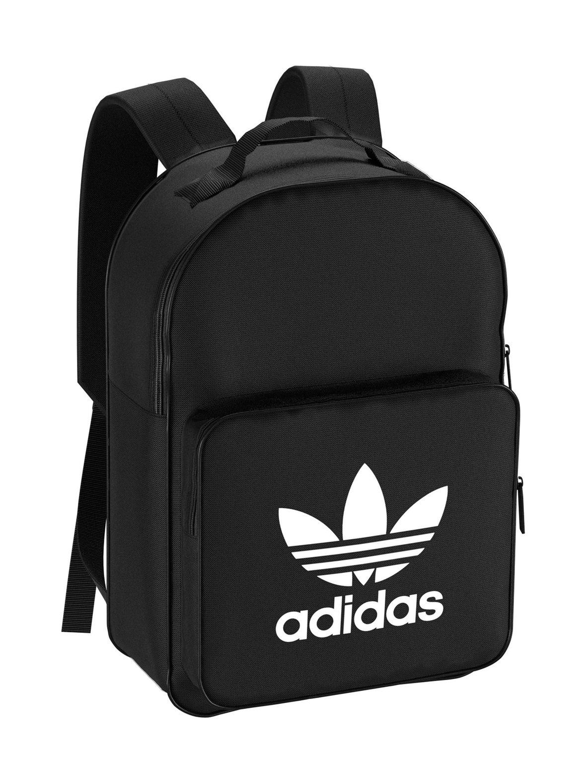 Black (musta) Adidas Originals Trefoil-reppu DJ2170  0c2622af7f