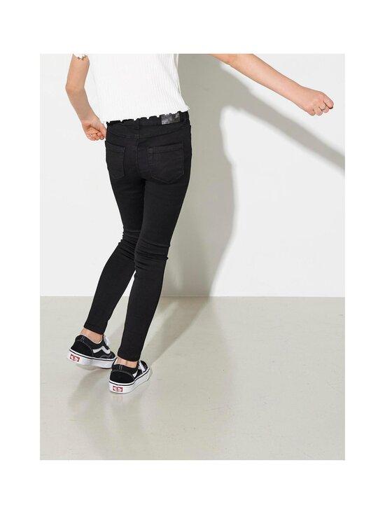 KIDS ONLY - Konroyal Life Reg Skinny Jeans -farkut - BLACK | Stockmann - photo 5