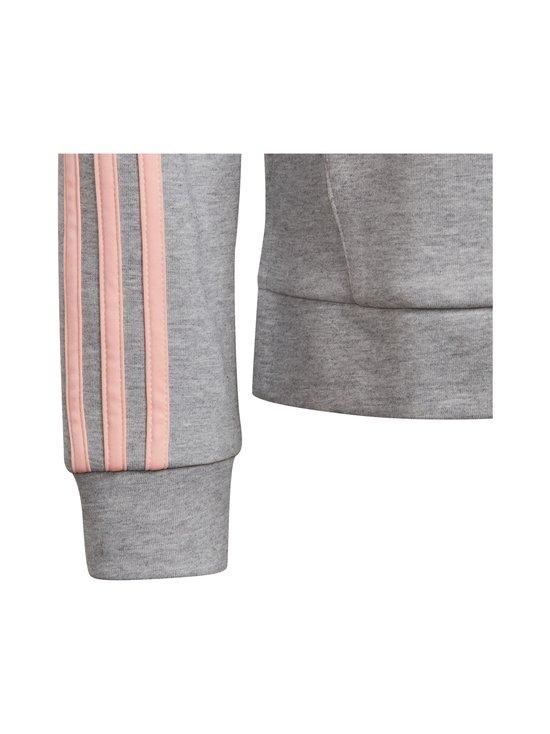 adidas Performance - 3-Stripes Full-Zip -hupparitakki - MGREYH/HAZCOR | Stockmann - photo 3