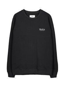 Makia - Origin Sweatshirt -collegepaita - 999 BLACK | Stockmann