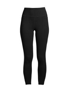 DKNY Sport - Rhinestone Stripe Logo -leggingsit - SIL VER | Stockmann