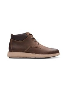 Clarks - Un Larvik Top -nahkakengät - BROWN | Stockmann