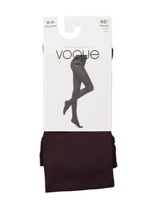 Vogue - Opaque 40 den -sukkahousut - 8739 BLACK GRAPE | Stockmann