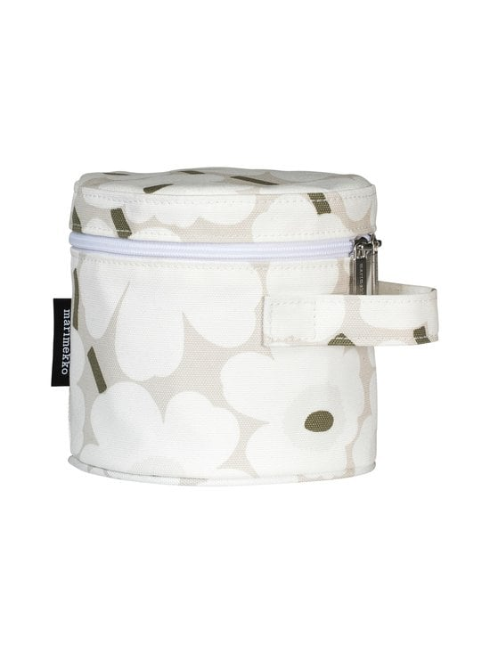 Marimekko - Liuske Mini Unikko -kosmetiikkalaukku - BEIGE, WHITE, GREYGREEN | Stockmann - photo 1