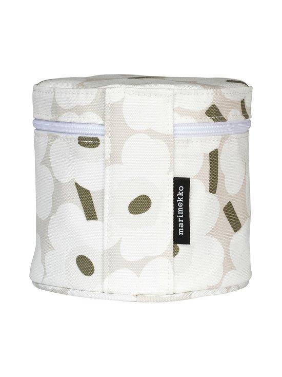Marimekko - Liuske Mini Unikko -kosmetiikkalaukku - BEIGE, WHITE, GREYGREEN | Stockmann - photo 2