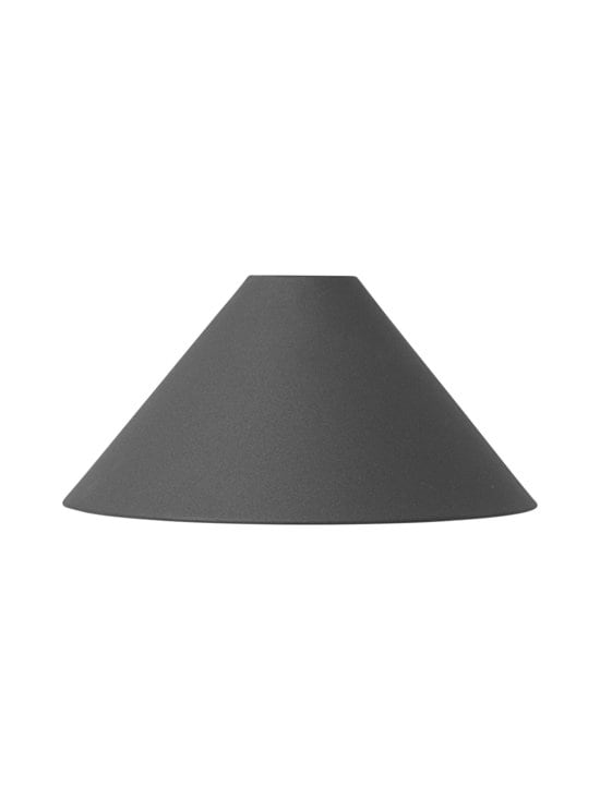 Ferm Living - Cone-lampunvarjostin ø 25 cm - MUSTA | Stockmann - photo 1