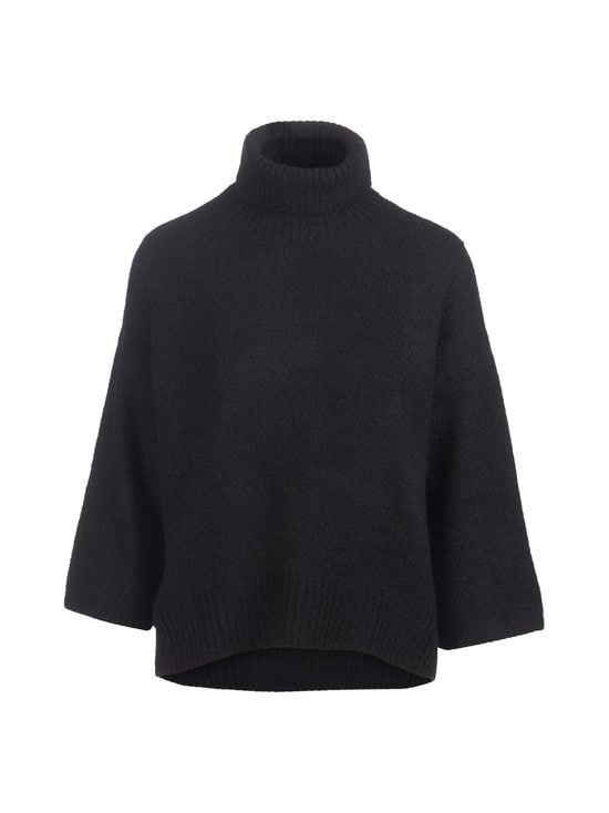 Vila - ViFunkla Roll-Neck 7/8 Sleeve -neule - BLACK | Stockmann - photo 1