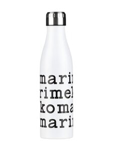 Marimekko - Logo-termospullo 500 ml - 190 WHITE BLACK | Stockmann