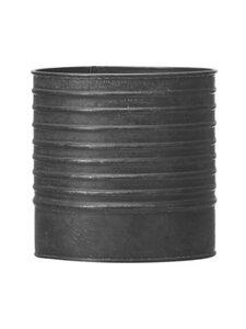 Wikholm Form - Amira L -ruukku 18 x 18 cm - BLACK ZINC | Stockmann