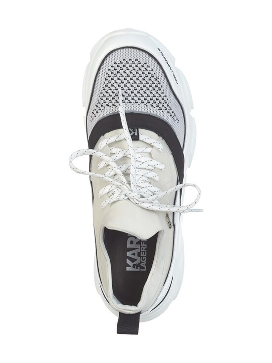 Karl Lagerfeld - Verge Lo Lace Runner Mix -sneakerit - MID GREY, WHITE 451   Stockmann - photo 2