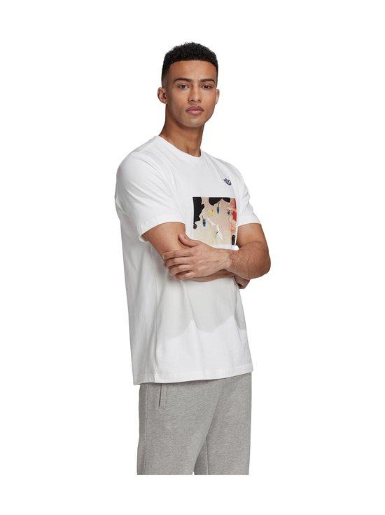 adidas Originals - Samstag Photo T -paita - WHITE | Stockmann - photo 3