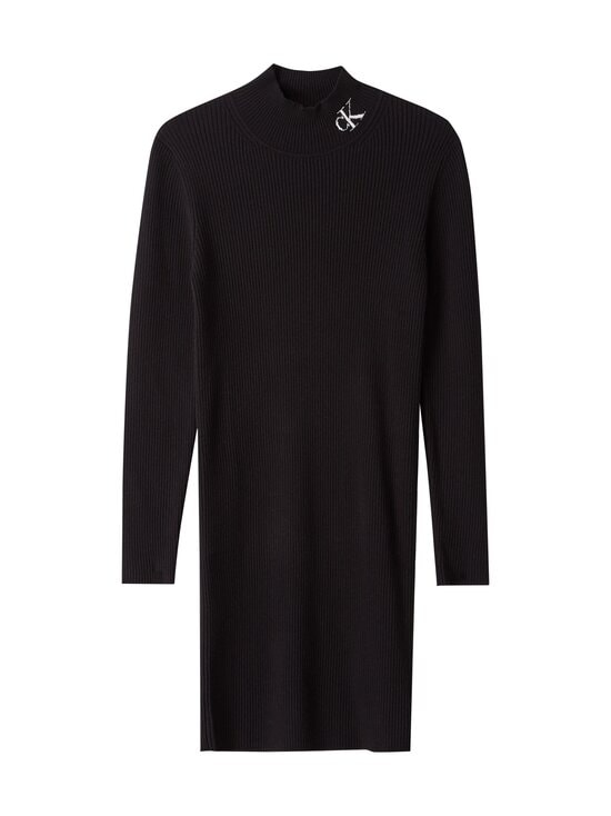 Calvin Klein Jeans - Roll Neck Sweater Dress -mekko - BEH CK BLACK / BLACK | Stockmann - photo 1