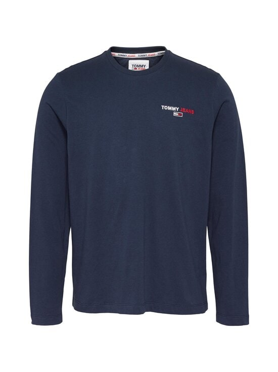 Tommy Jeans - Tjm Longsleeve -paita - C87 TWILIGHT NAVY   Stockmann - photo 1
