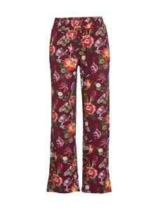Essenza - Pants Naomi Scarlett Long -pyjamahousut - WINE RED | Stockmann
