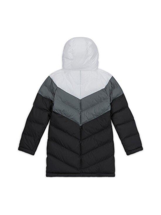 Nike - Sportswear Long Jacket -toppatakki - WHITE/SMOKE GREY/BLACK/BLACK | Stockmann - photo 2