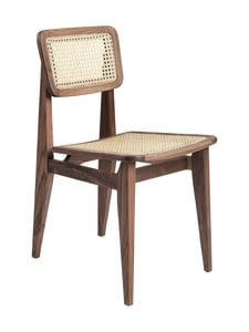 Gubi - C-Chair Dining -tuoli - AMERICAN WALNUT OILED BASE | Stockmann
