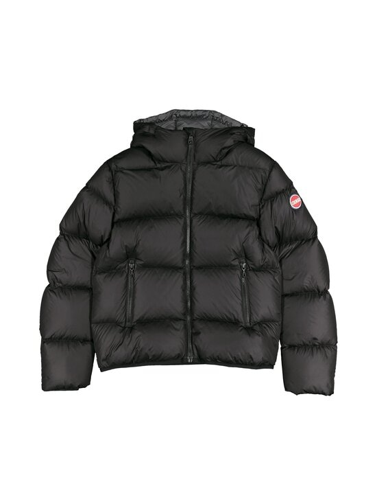 COLMAR - 5ST Short puffer down coat with hood COLMAR 99 BLACK-SPIKE 12 - 99 BLACK-SPIKE | Stockmann - photo 1