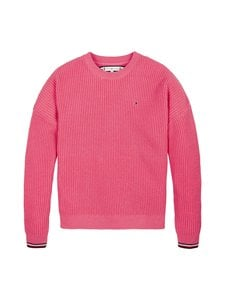 Tommy Hilfiger - Essential Tommy Sweater -neule - TIK GLAMOUR PINK | Stockmann