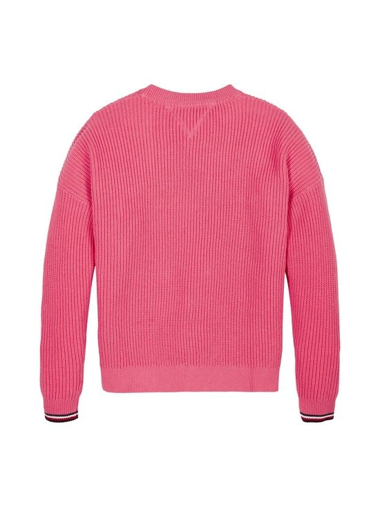 Tommy Hilfiger - Essential Tommy Sweater -neule - TIK GLAMOUR PINK | Stockmann - photo 2