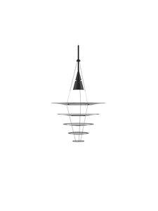 Louis Poulsen - Enigma 545 -riippuvalaisin - BLACK | Stockmann