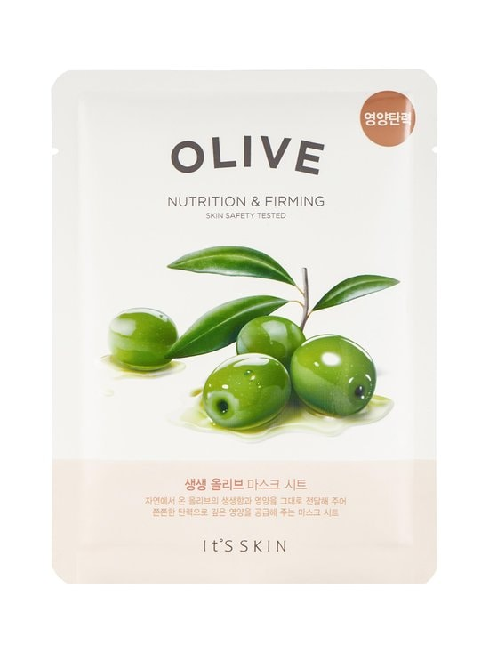 The Fresh Olive Mask Sheet -kasvonaamio 22 g