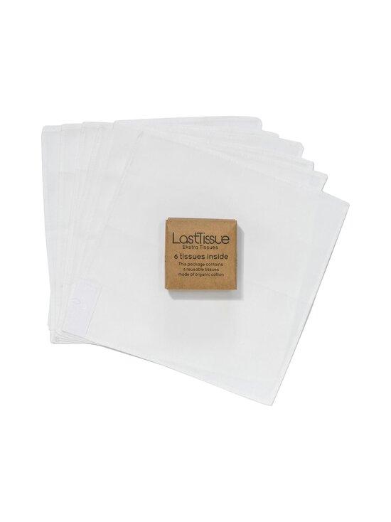 LastObject - LastTissue Refill -uudelleenkäytettävä nenäliina 6 kpl - WHITE | Stockmann - photo 2
