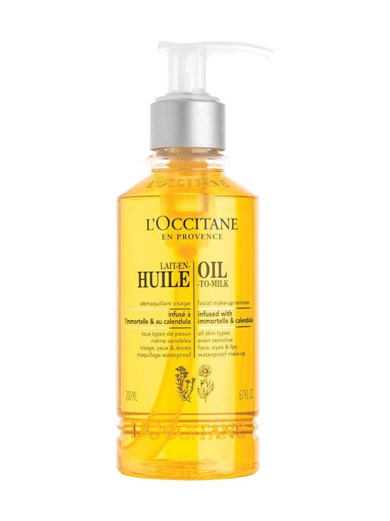 Loccitane - Cleansing Infusion Oil To Milk -puhdistusöljy 200 ml - NOCOL   Stockmann - photo 1