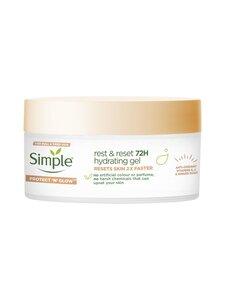 Simple - Rest & Reset 72h Hydrating Gel 50 ml -kosteuttava geelivoide   Stockmann