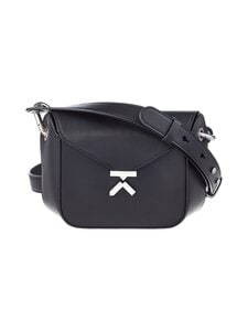 Kenzo - K Small Leather Bag -nahkalaukku - BLACK | Stockmann