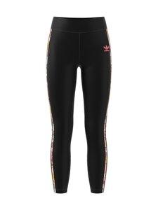 adidas Originals - HW Flower Stripes -legginsit - BLACK/TRAPNK   Stockmann