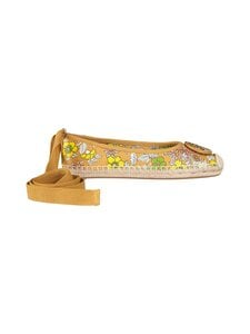 Tory Burch - Minnie Ballet Espadrille -avokkaat - 249 RUST WALLPAPER FLORAL | Stockmann