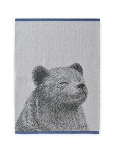 Finlayson - Karhu-keittiöpyyhe 50 x 70 cm, 2 kpl - BLACK/WHITE | Stockmann