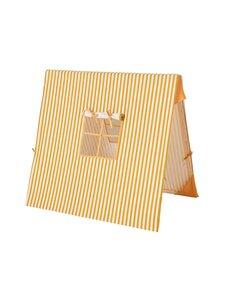 Ferm Living - Tent Thin Striped -leikkiteltta - MUSTARD/WHITE | Stockmann
