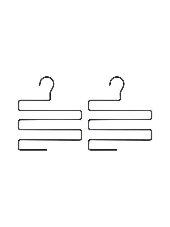 BEdesign - Lume Multi Hanger -vaateripustin 2 kpl - CHARCOAL BLACK | Stockmann - photo 1