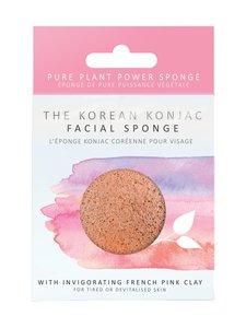 Konjac Sponge - Premium Facial Puff Pink Clay -ihonpuhdistussieni - null | Stockmann