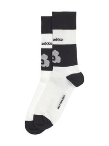 Marimekko - Salla Unikko -urheilusukat - 191 WHITE, BLACK | Stockmann