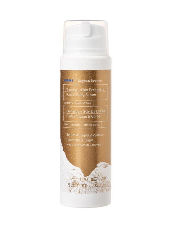 Korres - Aegean Bronze Tanning Serum Medium Shade -itseruskettava seerumi kasvoille ja vartalolle 150 ml - NOCOL   Stockmann - photo 1