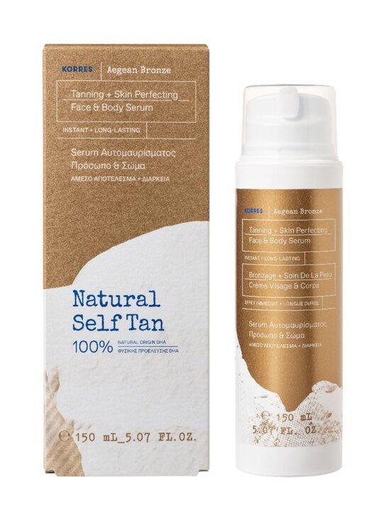 Korres - Aegean Bronze Tanning Serum Medium Shade -itseruskettava seerumi kasvoille ja vartalolle 150 ml - NOCOL   Stockmann - photo 2