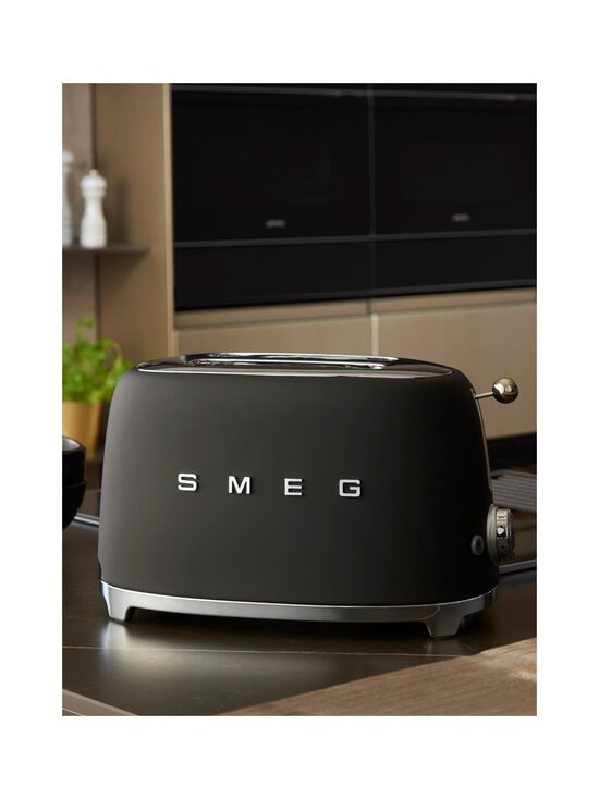 Smeg - TSF01BLMEU-leivänpaahdin, 2 viipaleelle - MATT BLACK | Stockmann - photo 3