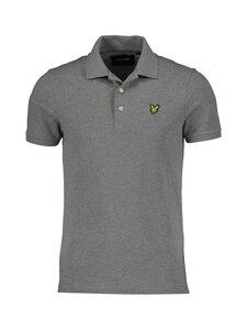 Lyle & Scott - Plain Polo Shirt -pikeepaita - T28 MID GREY MARL | Stockmann