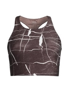Casall - Conscious Connected Sports Top -treenitoppi - CONNECTED BROWN | Stockmann