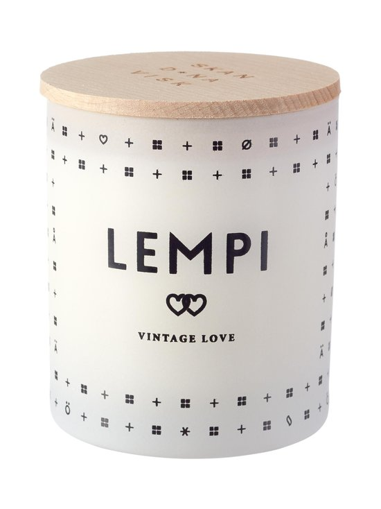 Lempi Vintage Love -tuoksukynttilä 8,5 cm