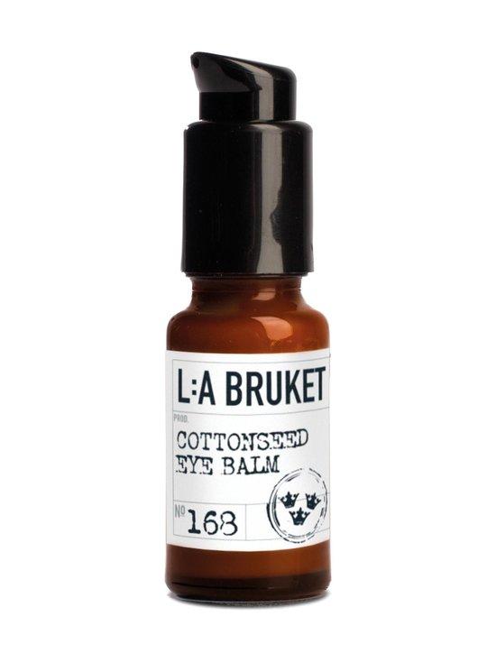 L:A Bruket - No 168 Cottonseed Eye Balm -silmänympärysvoide 15 ml - NOCOL | Stockmann - photo 1