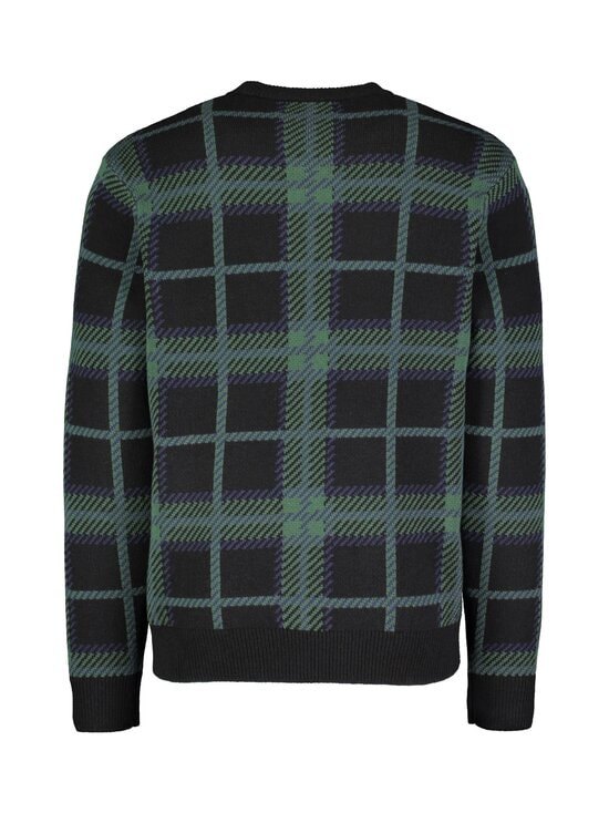 Fred Perry - Tartan C-Neck Jumper -neule - 102 BLACK | Stockmann - photo 2