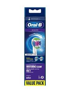 Oral-B - 3D White -vaihtopäät 4kpl - WHITE   Stockmann