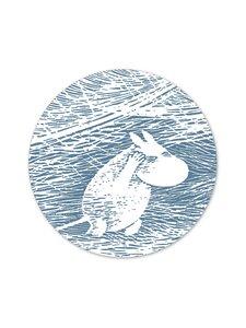 Moomin - Lumituisku-pannunalunen - BLUE | Stockmann