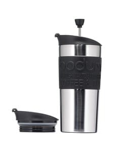 Bodum - Travel Press -termosmuki - TERÄS/MUSTA | Stockmann