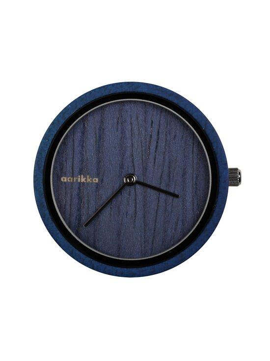 Aarikka - Aikapuu-kellotaulu, pieni ø 36 mm - BLUE | Stockmann - photo 1