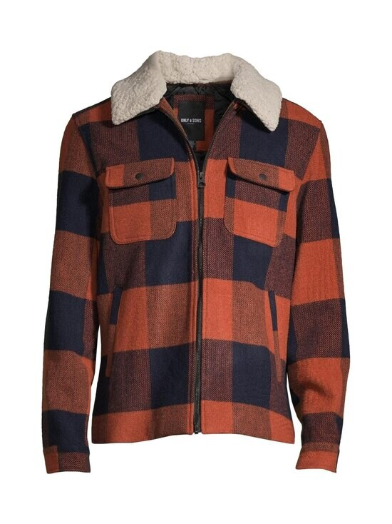 Only & Sons - OnsRoss-takki - BOMBAY BROWN   Stockmann - photo 1