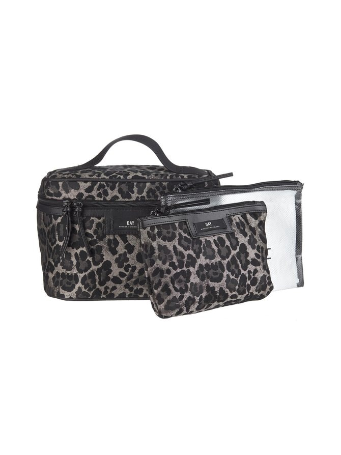 Day Gweneth Leopard -kosmetiikkalaukkusetti